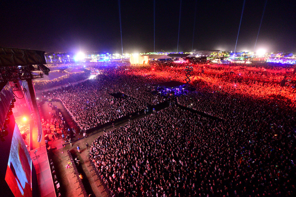 General atmosphere at Coachella, in Indio, CA, USA, on 15 April, 2016.