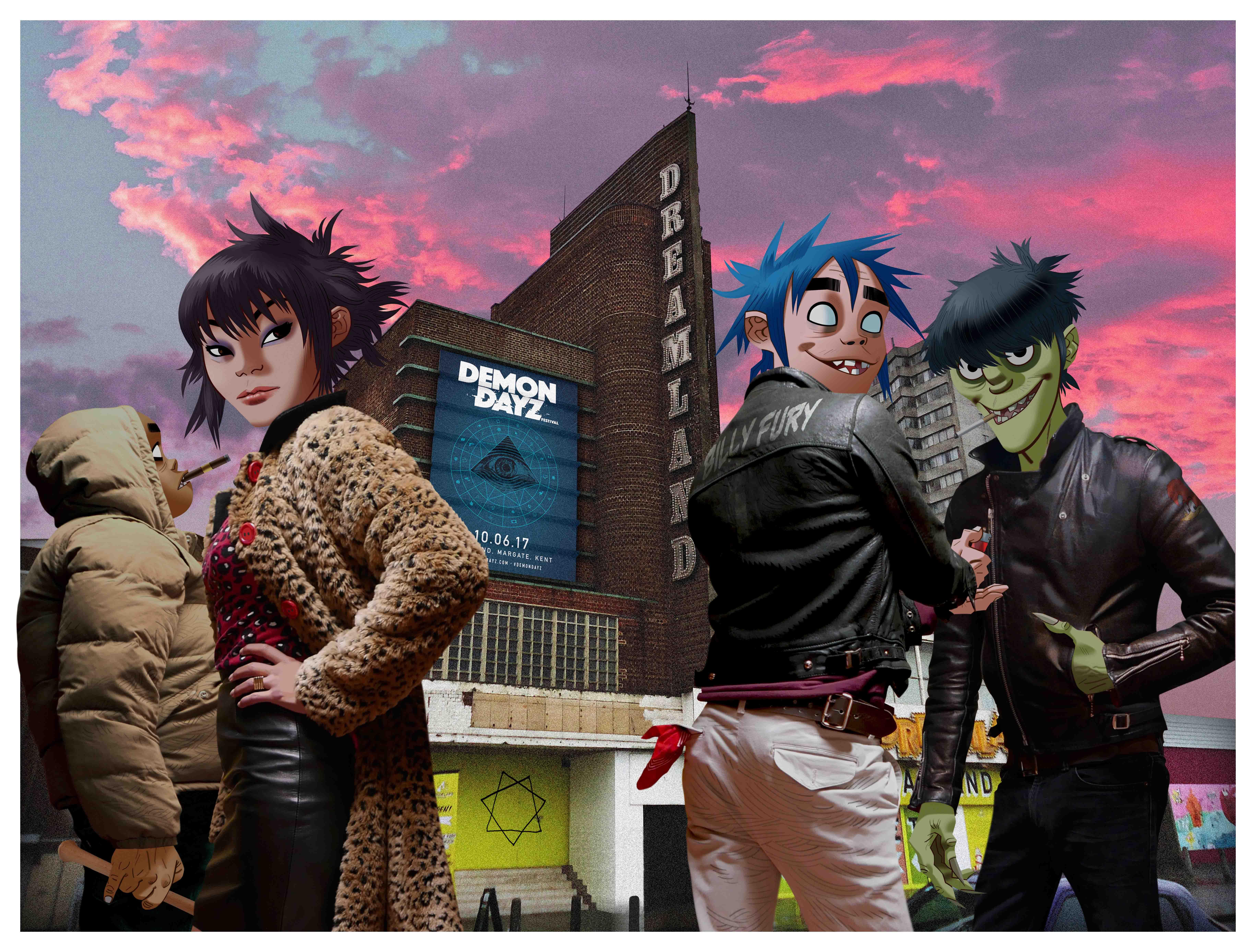 Gorillaz_Demon Dayz_Dreamland