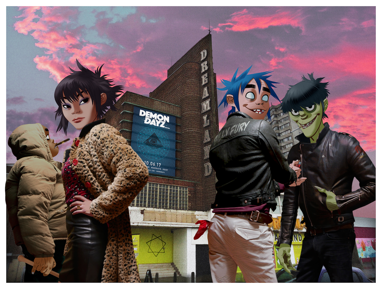 Gorillaz_Demon Dayz_Dreamland