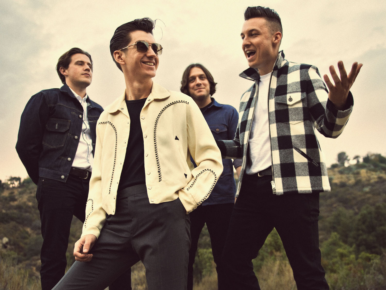 Arctic Monkeys Press Shot