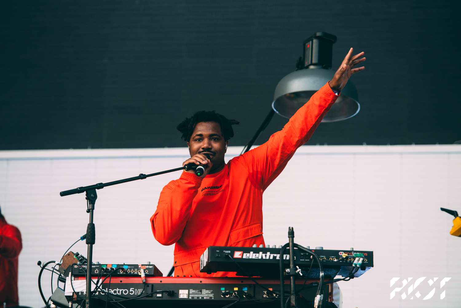 Sampha - All Points East 2018 - Patrick Gunning-10