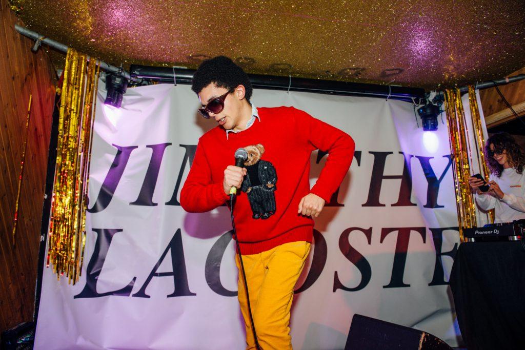 Jimothy Lacoste gets dancy on latest tune 'Describe a Villain'