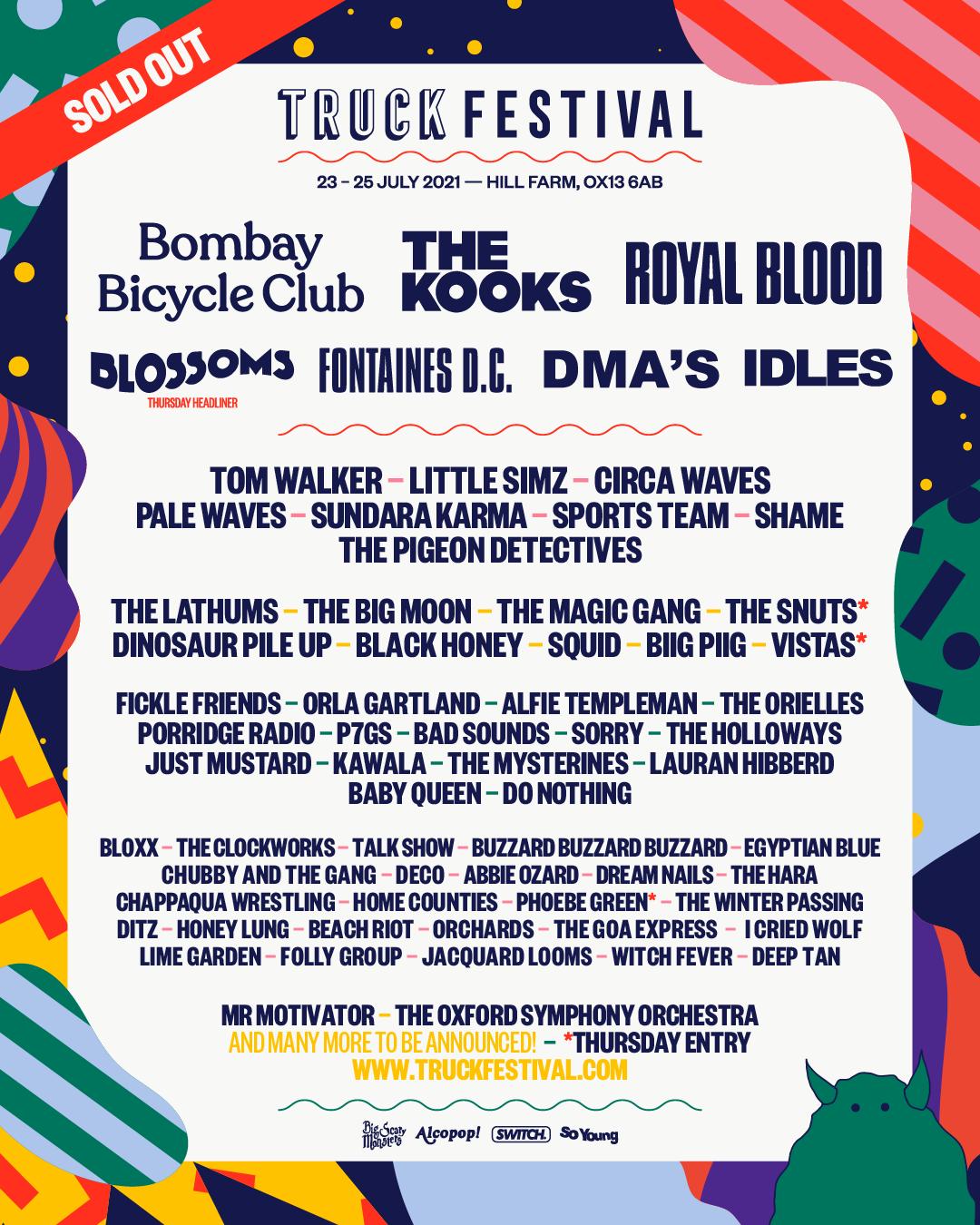Truck Festival 2021 Lineup